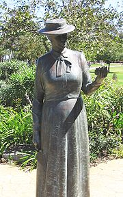 Statue of Kate Sessions